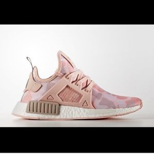 Adidas NMD XR1 Pink Camo Sneakers